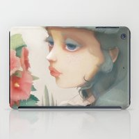 et iPad Cases featuring Pensees et roses tremieres by Ludovic Jacqz