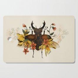 Blooming Beetle Cutting Board
