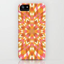Firework Quilt #2 iPhone Case