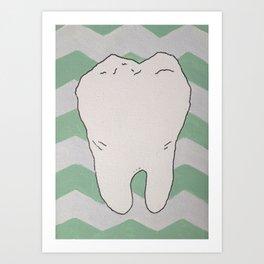 Tooth Art Print