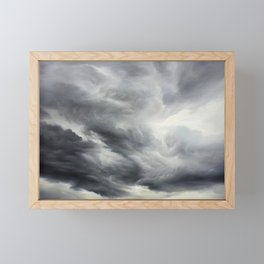 Stormy Sky Framed Mini Art Print