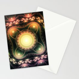 Abstract Fractal Art 3 Stationery Cards