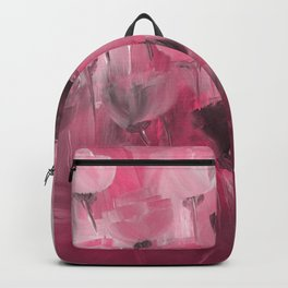 Rose Garden in Shades of Peachy Pink Backpack