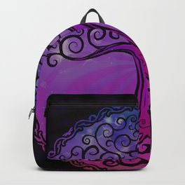 Tree of Life - Hot Pink Backpack