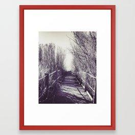Path to no where Framed Art Print