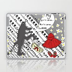 Little Red Riding Hood by Piarei Laptop & iPad Skin