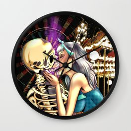 Dull The Pain Wall Clock