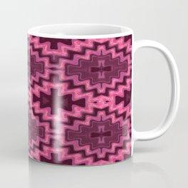 Glowing Aztec Futuristic Quilt Coffee Mug