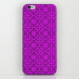 Dazzling Violet Shadows iPhone Skin