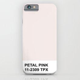 Honeymoon Hotel Petal Pink iPhone Case