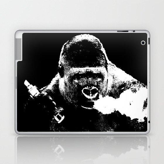 Gorilla Vape Laptop & iPad Skin by stevewillows