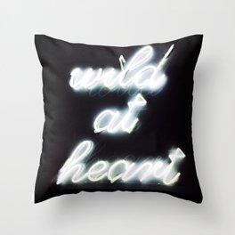 Wild At Heart Throw Pillow