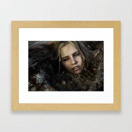 Birthing Gemini Framed Art Print
