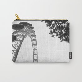 The London Eye from below Carry-All Pouch