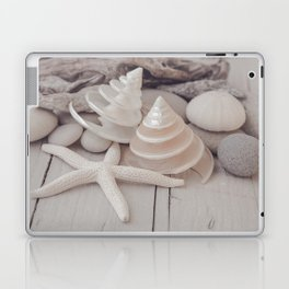 Beach Still Life With Shells And Starfish Laptop & iPad Skin