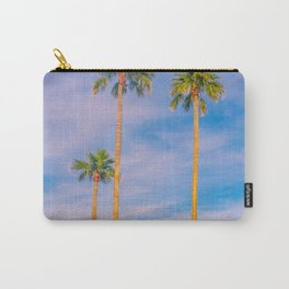 Palm Trees, Palm Tree, Desert, California, Summer, Landscape Photography, West Coast, Cali, Beach Carry-All Pouch