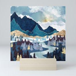 Valley Sunrise Mini Art Print
