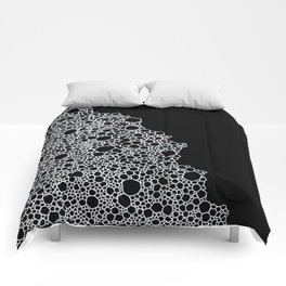 Black and White Foam Comforters
