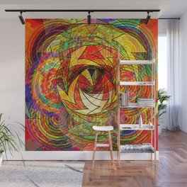 Eternal Spin Wall Mural
