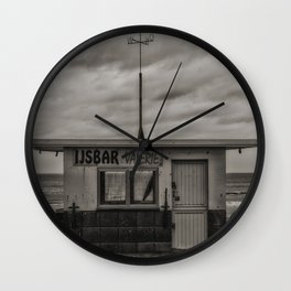 Belgian Ice Cream Wall Clock