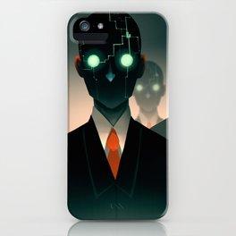 Microchip mind control iPhone Case