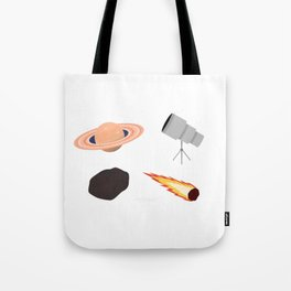 Space Exploration Tote Bag