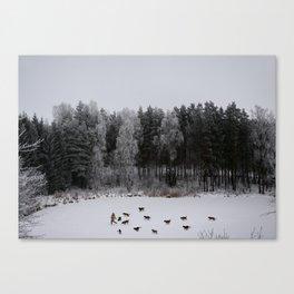 Winter's Tale Canvas Print
