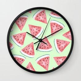 Watermelon Press Wall Clock