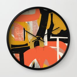 East of Broadway Wall Clock