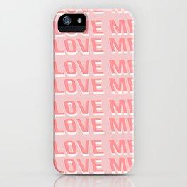 Love Supermarket iPhone Case
