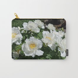 Tree Peonies Carry-All Pouch