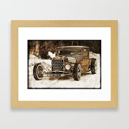 The Pixeleye - Special Edition Hot Rod Series IV Framed Art Print