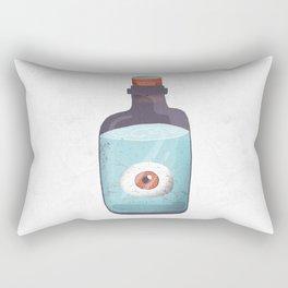 Eye in a bottle Rectangular Pillow