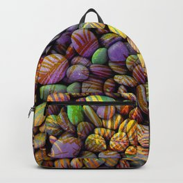 Stones and Palms - Ultraviolet Backpack