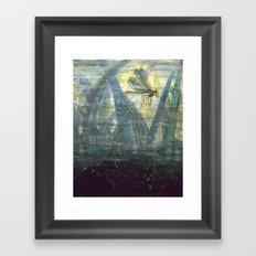 Dragonfly II: Timing Framed Art Print