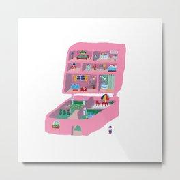 Polly Pocket Metal Print