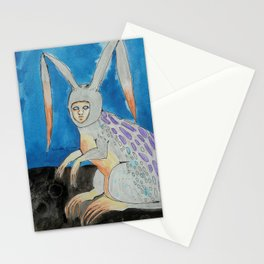 Lepus Gallus -- Creature Series Stationery Cards