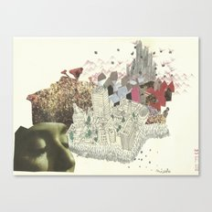 The City of Miesle Canvas Print