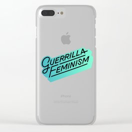 GF logo Clear iPhone Case