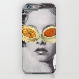 Hungry Eyes - Soup sunglasses iPhone Case