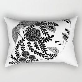 Sensitive Woman Rectangular Pillow