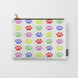 Pawprints Pattern I Carry-All Pouch