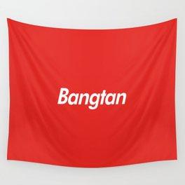 BTS Bangtan Box Logo Wall Tapestry