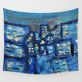 city Wall Tapestry