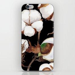 Cotton Flower Pattern 03 iPhone Skin