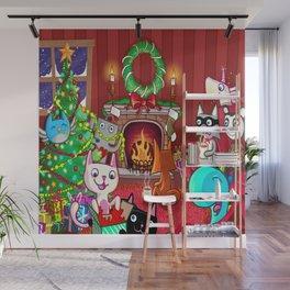 Les TrOnches - Joyeux temps des fêtes ! Wall Mural