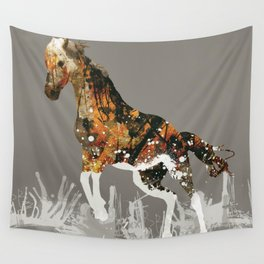 Ice Horse Wall Tapestry