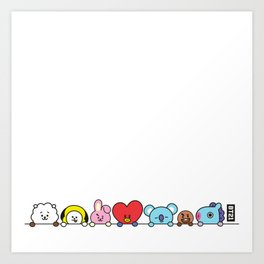 All Together by Ania Mardrosyan Art Print
