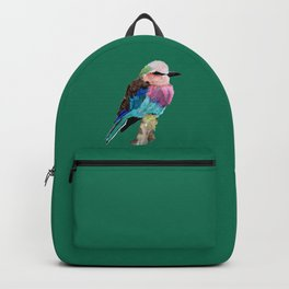 Lilac Breasted Roller Bird Backpack