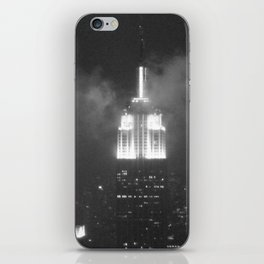 Gotham city in black and white iPhone Skin